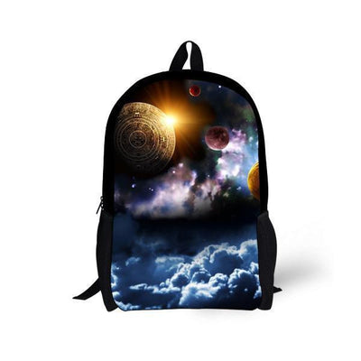 Galaxy Space Star Backpacks Style 12 Bags