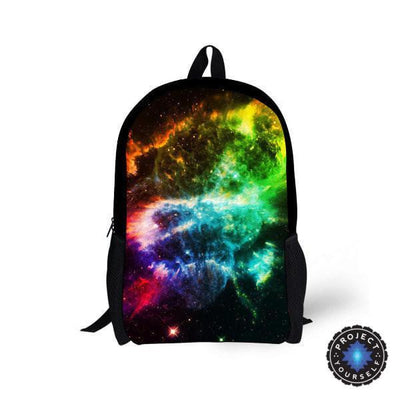Galaxy Space Star Backpacks Style 3 Bags
