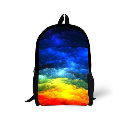 Galaxy Space Star Backpacks Style 7 Bags