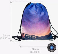 Galaxy Star Drawstring Bag Bags