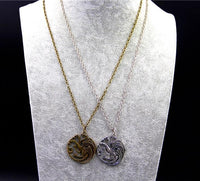 Game Of Thrones Targaryen Necklace Necklaces