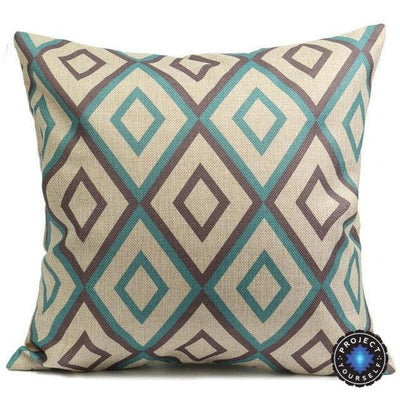 Geometric Boho Cushion Covers 11 / 45x45cm Bed Sheets