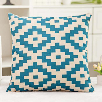 Geometric Boho Cushion Covers 12 / 45x45cm Bed Sheets
