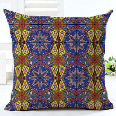 Geometric Boho Cushion Covers 14 / 45x45cm Bed Sheets