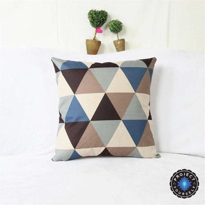 Geometric Boho Cushion Covers 3 / 45x45cm Bed Sheets