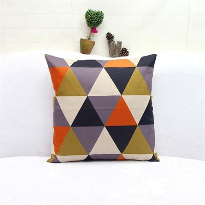 Geometric Boho Cushion Covers 4 / 45x45cm Bed Sheets