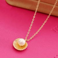 Gift Of The Sea Pearl Necklace Gold Necklace