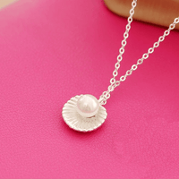 Gift Of The Sea Pearl Necklace Silver Necklace