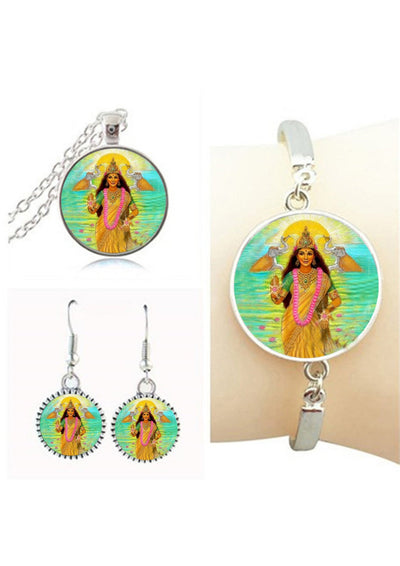 Goddess Lakshmi Jewelry Sets 1 Jewelry Set