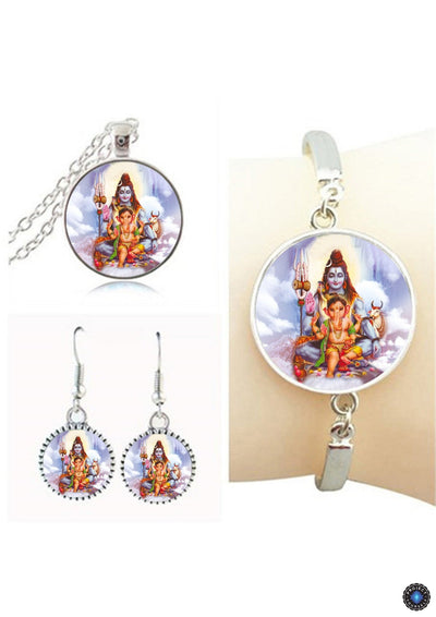 Goddess Lakshmi Jewelry Sets 2 Jewelry Set