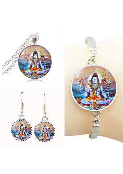 Goddess Lakshmi Jewelry Sets 5 Jewelry Set