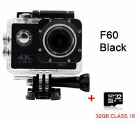 GoPro Hero Style 4K Ultra HD Mini Waterproof Wifi Camera for Extreme Adventures F60 Black 32GB / Standard Camera