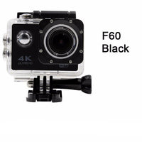 GoPro Hero Style 4K Ultra HD Mini Waterproof Wifi Camera for Extreme Adventures F60 Black / Standard Camera