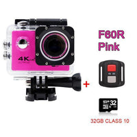 GoPro Hero Style 4K Ultra HD Mini Waterproof Wifi Camera for Extreme Adventures F60R Pink 32GB / Standard Camera