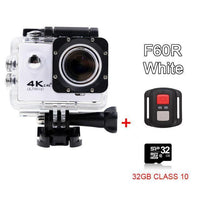 GoPro Hero Style 4K Ultra HD Mini Waterproof Wifi Camera for Extreme Adventures F60R White 32GB / Standard Camera