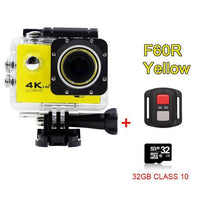 GoPro Hero Style 4K Ultra HD Mini Waterproof Wifi Camera for Extreme Adventures F60R Yellow 32GB / Standard Camera