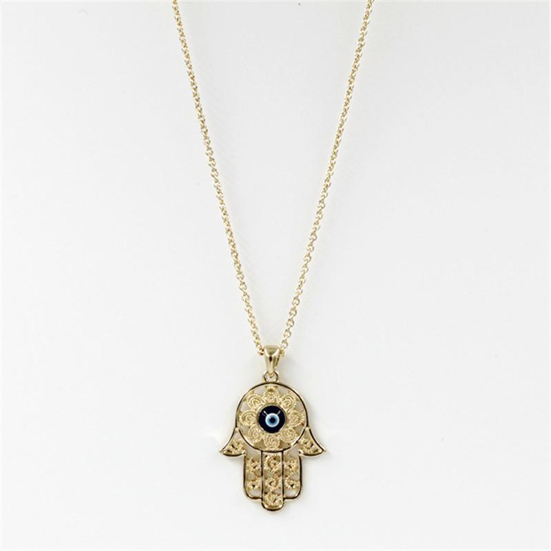 evil drop anzie dew p necklace jewelry turquoise eye gold