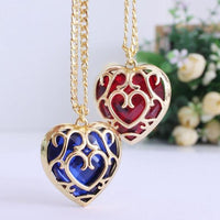 Hollow Heart Pendant Necklace Necklace