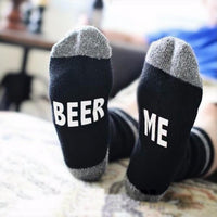 """If You Can Read This Bring Me A Glass of Wine"" Socks Style 9 Clothing"