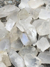 100g Natural Raw Moonstone