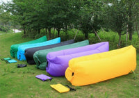 Inflatable Outdoor Air Lounger Surivival Gear