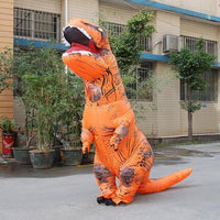 Inflatable T-REX Costume Orange Costume