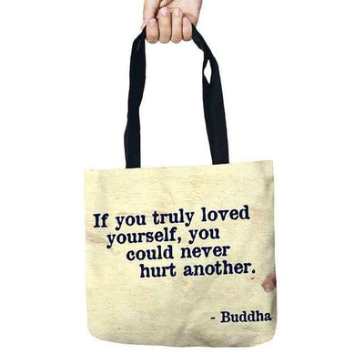 Inspirational Linen Tote Bag 22 Bags
