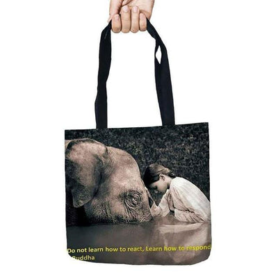 Inspirational Linen Tote Bag 23 Bags