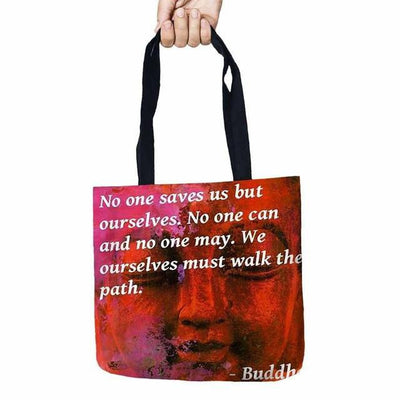 Inspirational Linen Tote Bag 24 Bags