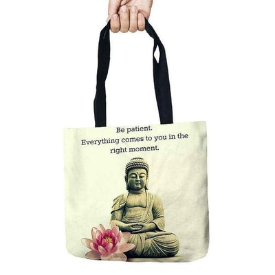 Inspirational Linen Tote Bag 3 Bags