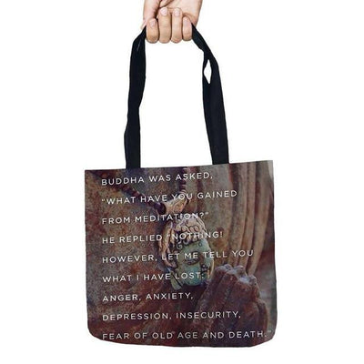 Inspirational Linen Tote Bag 4 Bags