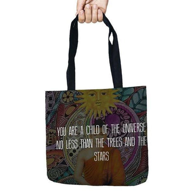 Inspirational Linen Tote Bag 6 Bags