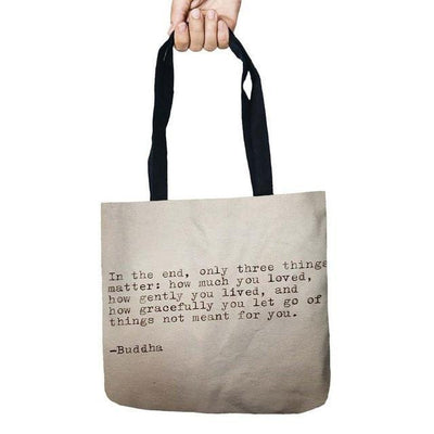 Inspirational Linen Tote Bag 7 Bags