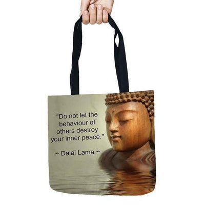 Inspirational Linen Tote Bag 8 Bags