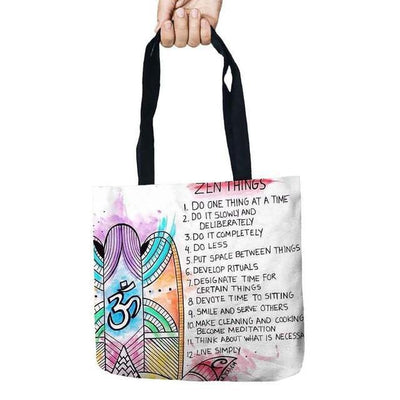 Inspirational Linen Tote Bag Style 1 Bags