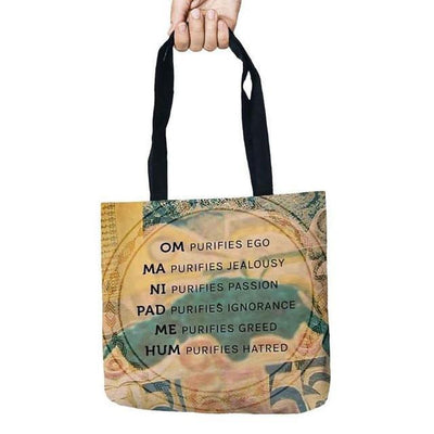 Inspirational Linen Tote Bag Style 5 Bags