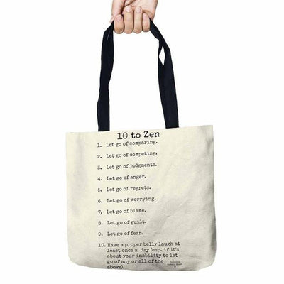 Inspirational Linen Tote Bag Style 8 Bags