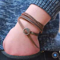 Inspirational Multi-layer Genuine Leather Bracelet Bracelet
