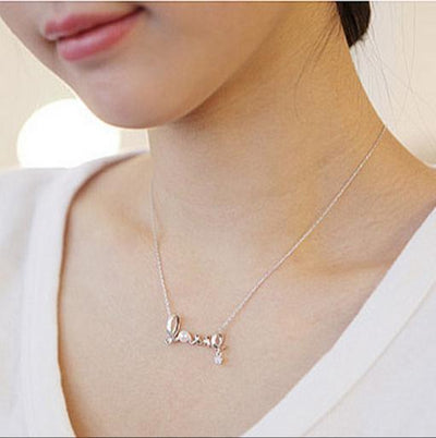 Language of Love Necklace Necklace