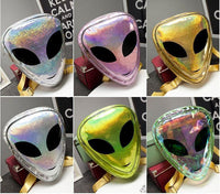 Laser 3D Harajuku Aliens Backpack Bags