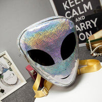 Laser 3D Harajuku Aliens Backpack Type 1 Bags