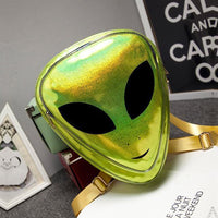 Laser 3D Harajuku Aliens Backpack Type 3 Bags