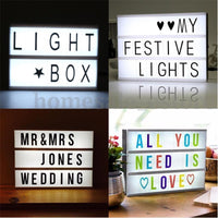 LED Cinema A5 Lightbox Lights
