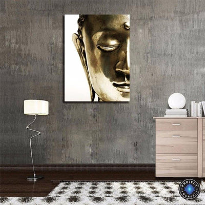 Limited Edition Golden Buddha Meditation Painting Painting