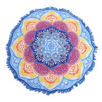 Limited Edition Rounded Mandala Boho Tapestry Pattern 2 Tapestry