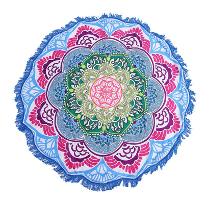 Limited Edition Rounded Mandala Boho Tapestry Pattern 6 Tapestry