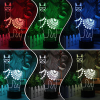 Llama-zing LED Lamp 3D Lights