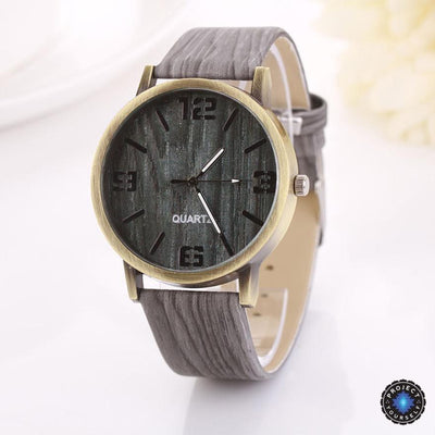 Lux Wood Grain Watch B Watch
