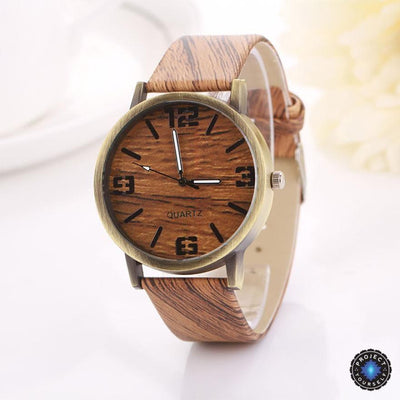 Lux Wood Grain Watch C Watch