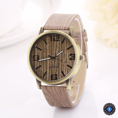 Lux Wood Grain Watch D Watch